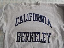 Vintage University of California Berkeley Sweatshirt Distressed Reverse Weave ?