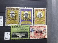 SELLOS DE  HONDURAS.   USADOS.