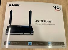 D-LINK DWR-921 4G / 3G LTE Sim Slot Unlocked WiFi Mobile Broadband Router 4-Port