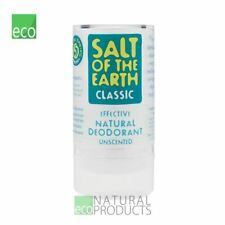 Salt of the Earth in Pietra Naturale Cristallo Deodorante Unscented 90 G