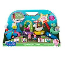 Peppa Pig Peppa's Magical Parade Train Playset & 2 Mini Action Figures Toy Set