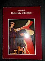 The Federal UNIVERSITY OF LONDON 1983 History Presentation Ceremony Photographs