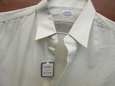 Vtg 1940's Arrow Sanforized point collar button up Mitoga New with Tag S 14-32