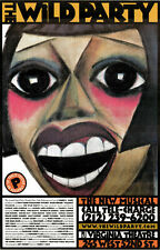 THE WILD PARTY--Broadway Theater Window Card Poster; Eartha Kitt, Toni Collette
