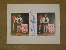 "LIMITED EDITION CHRIS OSGOOD ""X-MAS SWEATER"" 10 X 11.5 AUTOGRAPH W/COA"