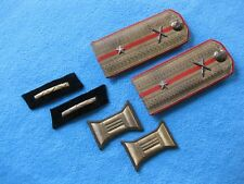 Shoulder straps buttonholes and coils for parade tunic Ww2 Ussr Soviet Russia