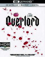 Overlord (DVD, 2019, 4K Ultra HD Blu-ray/Blu-ray) Free Shipping