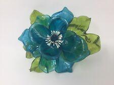 VINTAGE RETRO GROOVY MOD MID CENTURY ACRYLIC LUCITE ART SCULPTURE FLOWERS