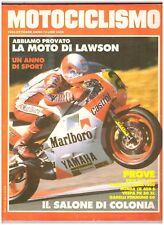 10 1986 MOTOCICLISMO - BMW R 65 650 - VESPA PK 50 XL - YAMAHA V-MAX 1200