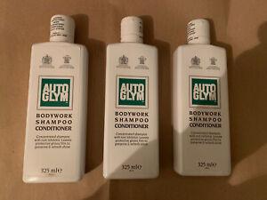 Auto Glym Car Bodywork Shampoo And Conditioner Car Wash. 3 x 325ml (975ml)