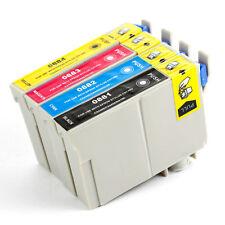 4PK Ink for Epson T088 Stylus NX115 NX200 NX215 NX300 NX400 NX410 NX415