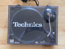More details for technics sl-1210mk2 dj deck turntable – black