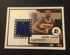 Anthony Johnson Pacers Charleston 2006 Topps Style 1952 Jersey Certified JG7