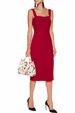 NWT DOLCE&GABBANA Crepe Sheath Dress 44/8