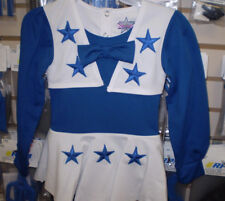 NFL DALLAS COWBOYS GIRLS TODDLER CHEER UNIFORM ROYAL BLUE WHITE 3T NEW NWT df2616891