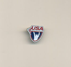 USA Weightlifting Federation Small Undated Olympic NOC Pin Tokyo 2020 Trader