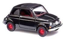Busch H0 48702 Fiat 500 schwarz Neu & OVP