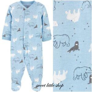 Child of Mine Carter Baby Boy Sleep Play Bodysuit One Pieces Bear Seal Walrus