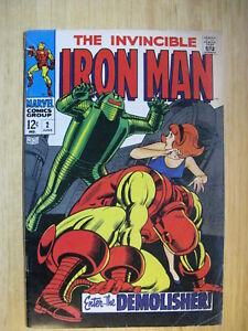 IRON MAN #2- 1968.