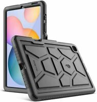 Poetic For Galaxy Tab S6 Lite Tablet Case,Soft Silicone Protective CoverBlack