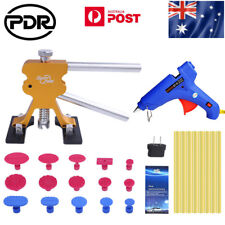 AU Stock PDR Tools Paintless Hail Repair Dent Lifter Gule Gun Sticks Removal Kit