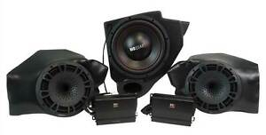 MB QUART Kick Panel Speakers+Subwoofer+Amps For Select Polaris RZR Ride Command