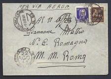 POSTA MILITARE 1943 Lettera PA da PM 52 a Roma (MB)