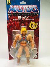 New 2020 Masters of the Universe Origins Walmart He-Man Battle Figure Motu