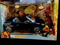 MY SCENE  CRUISIN IN MY RIDE CAR 2  DOLLS BARBIE & ELLIS NRFB NEW MATTEL 2003