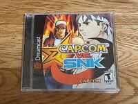 Ultra Rare SEGA Dreamcast CAPCOM vs SNK NTSC-US Sealed Brand New Collectors Item