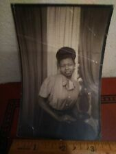 Very beautiful African American Female Photo booth picture from North Carolina