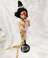 Monster high repaint Unique Mermaid doll, (koi fish) mashup with stand. Ooak