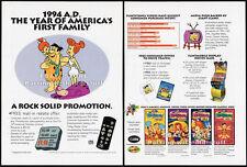 The FLINTSTONES Classics__Original 1994 Trade Print AD promo__HANNA-BARBERA