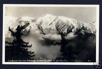 Old Baldy Mt. Wilson California DOPS RPPC postcard