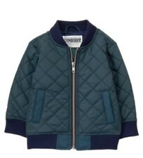 Gymboree Boys Moto Boss Navy Coat Quilted Jacket Sz. 3t Brand New!!! Look!!