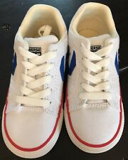 Converse Cons Gates OX White Blue And Red Infant / Toddler Size 9