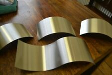 4 Stainless Steel grade 304 3x200 arch 1x330 s wave x125mm wide