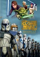 Star Wars Clone Wars Seasons 1-5 0883929361199 DVD Region 1