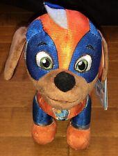 """Paw Patrol Mighty Pups Super Paws Zuma Stuffed Animal Plush 8"""" New"""