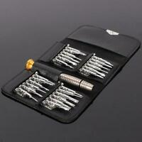 Pocket 25 in 1 Torx Screwdriver Repair Tool Set For iPhone Cellphone Tablet PC