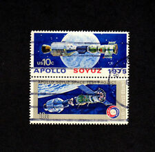 SCOTT # 1569-1570 Apollo Soyuz Space Issue U.S. Stamps Used NH - Block of 2