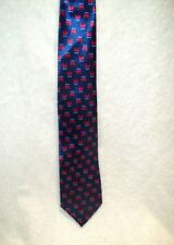 Republican, Dark Blue with Red Elephants Everywhere Neck Tie