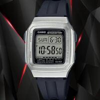 Casio F-201WAM-7AV Digital Watch 10 Year Battery Illuminator 4 Alarms Resin New