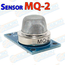 MQ-2 sensor gases combustibles metano propano butano humo glp Arduino mq2