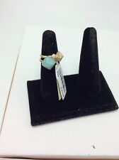 Michael Kors  Amazonite / Stone Pyramid Stack Ring Set Size 7 #10