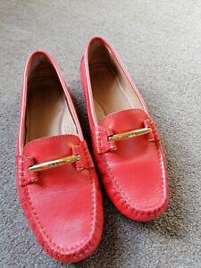 Peach Coral Lauren Ralph Lauren Driving Shoes, 6