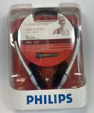 Philips Foldable Lightweight Headband Headphones SBC HL150  MP3 CD NEW