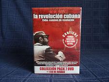 "Pack 7DVD+1CD ""Revolución Cubana"" [NUEVO PRECINTADO]"