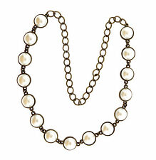 Vintage Fauc Mabe Pearl Necklace Strand