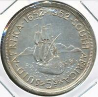 South Africa 1952 5 Shillings George VI (Silver) - Extra Fine